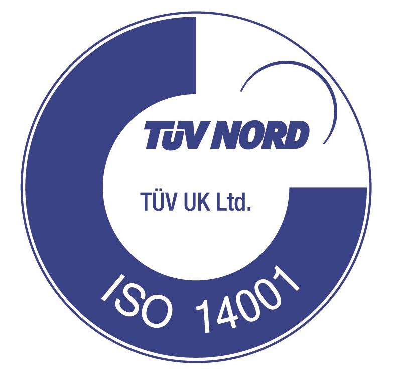 TUV Nord ISO-14001 Logo
